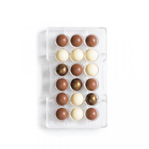 Chokladform, Hemisphere