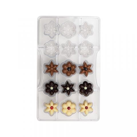 Chokladform, Flowers