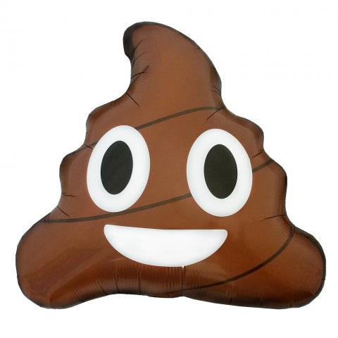 Folieballong, Emoji Poop