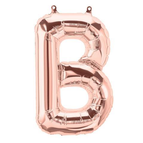 Uppblåsbar ballong, roséguld B