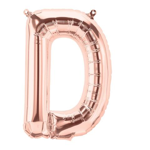 Uppblåsbar ballong, roségold D