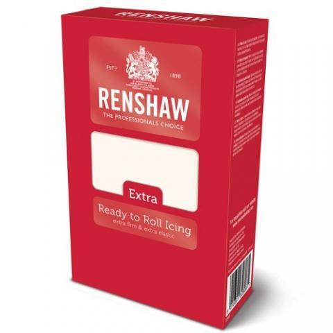 Renshaw EXTRA sockerpasta, vit 1kg