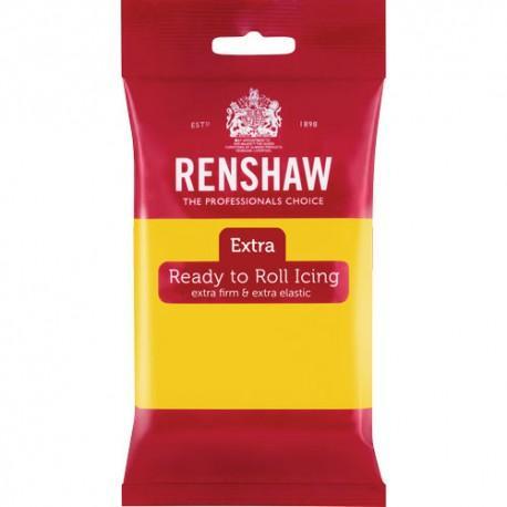 Renshaw EXTRA sockerpasta, gul 250g
