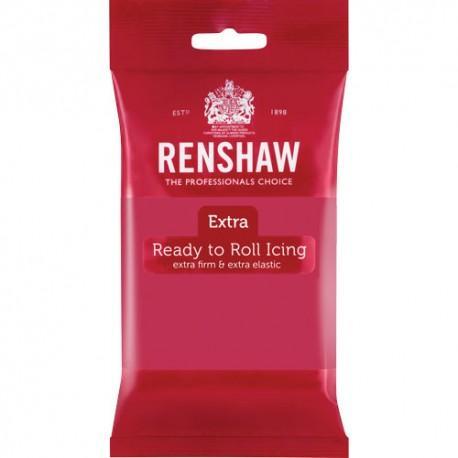 Renshaw EXTRA sockerpasta, fuchsia rosa 250g