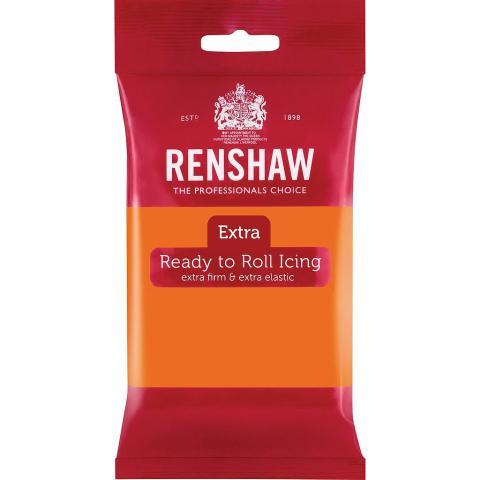 Renshaw EXTRA sockerpasta, orange 250g