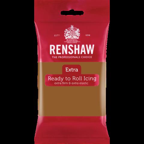 Renshaw EXTRA sockerpasta, kolabrun250g