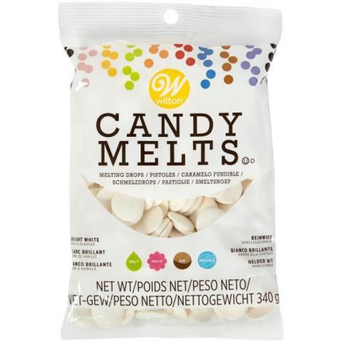 Wilton Candy Melts® -knappar, ljust vita