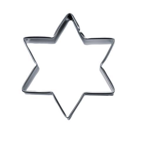 Stjärna-kakmått 6cm