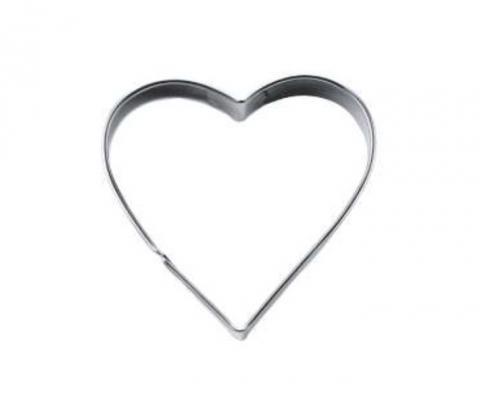 Hjärta-kakmått 6 cm