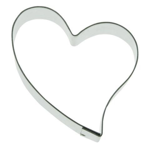 Liten sned hjärta-utstickare (11)