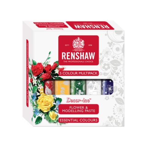 Renshaw blom- och modelleringspasta, flera färger