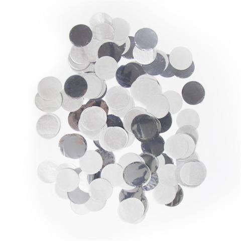 Confetti, silver