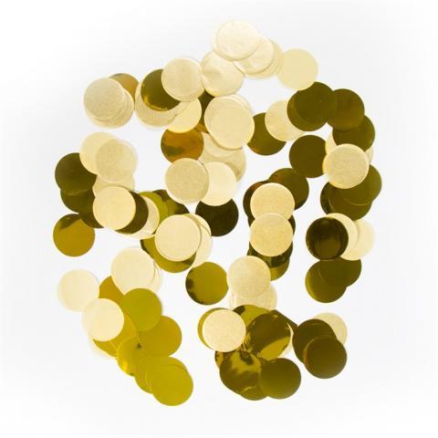 Confetti, guld
