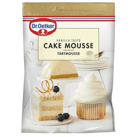 Dr Oetker tårtmousse, vanilj