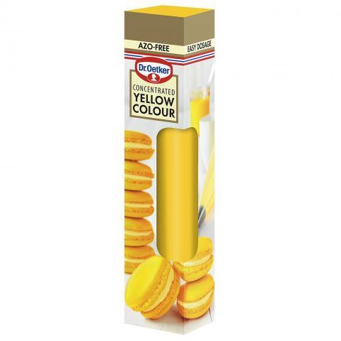 Dr Oetker gelfärg, gul