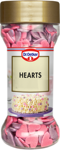 Dr Oetker strössel, Hearts 40g