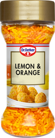 Dr Oetker  strössel Lemon & Orange