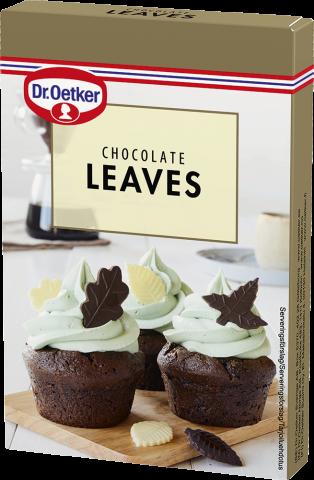 Dr Oetker chokladdekoration, löv