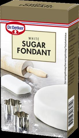 Dr Oetker sockermassa, vit 250g
