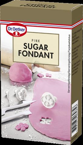 Dr Oetker sockermassa, rosa 250g