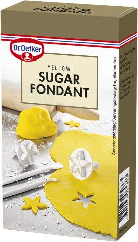 Dr Oetker sockermassa, gul 250g
