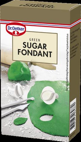 Dr Oetker sockermassa, grön 250g