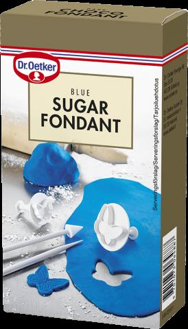 Dr Oetker sockermassa, blå 250g
