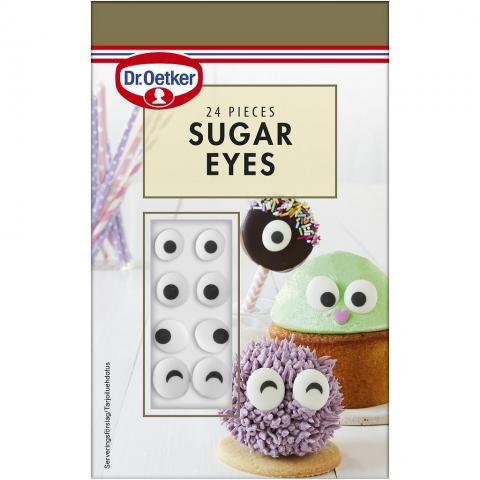 Dr Oetker ätbar dekoration, Sugar eyes
