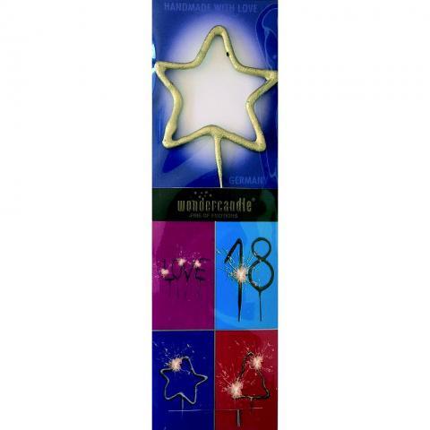 Tomtebloss, silver stjärna