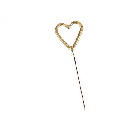 Mini Tomtebloss, guld hjärta