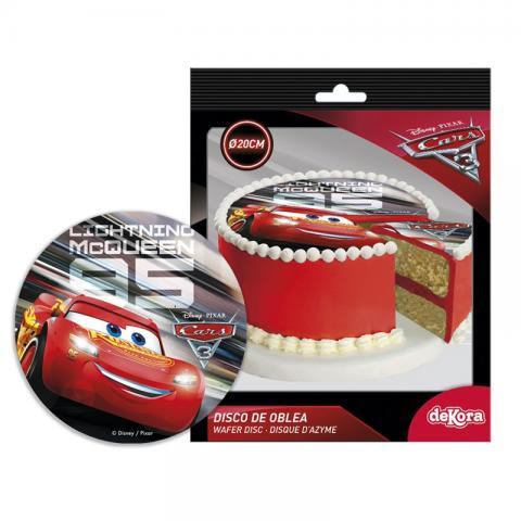 Färdig tårtbild - Cars / Bilar