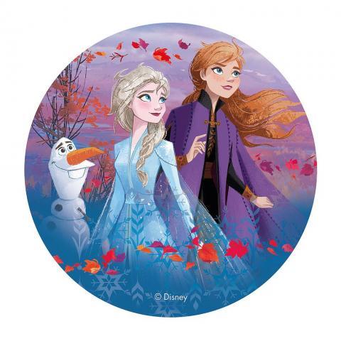 Tårtbild, Frozen II höst