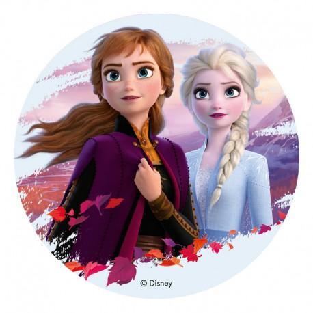 Ätbar tårtbild - Frozen II