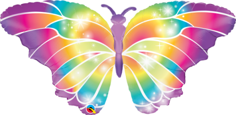 Figurfolieballong, Luminous Butterfly