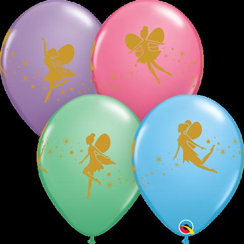 Gummiballonger 25st, Fairies & Sparkles