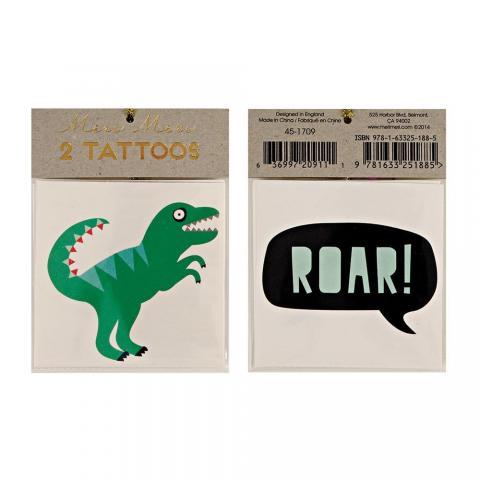 Barn tatueringar, dinosaurie