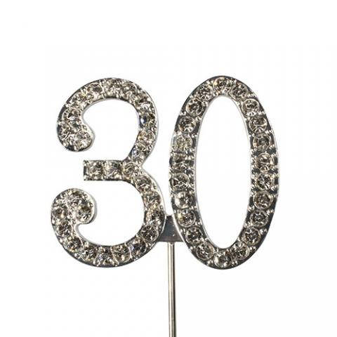 Tårtdekoration, diamanter 30