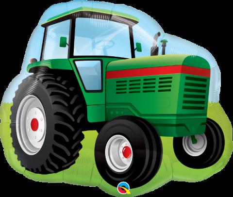 Figurfolieballong, Traktor