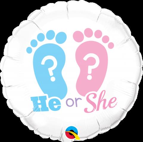 Folieballong, He or She?