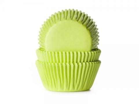 Muffinsform, limegrön