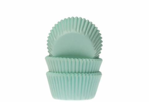 Mini-muffinsformar, mintgrön