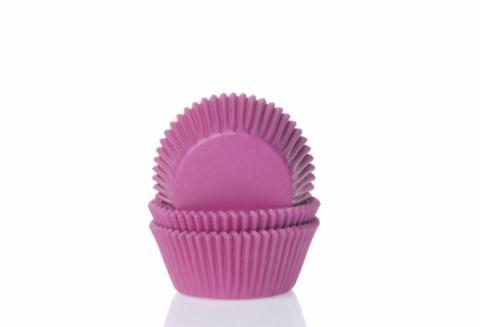Mini-muffinsform, hot pink