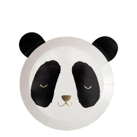 Panda tallrikar