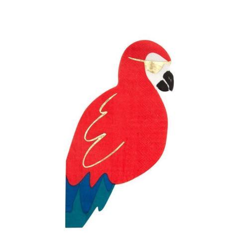 Papegoja servetter