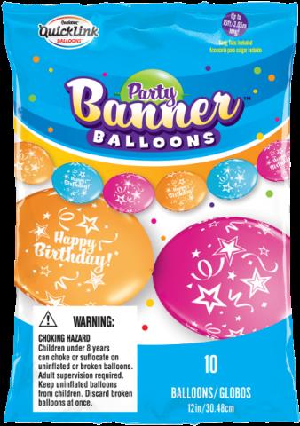 Ballongkedja, birthday