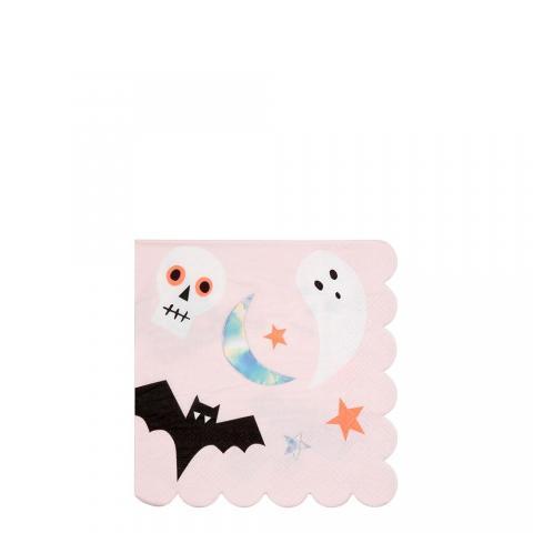 Pink Icon små servetter