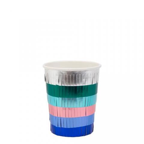 Foil Stripe Pinata muggar