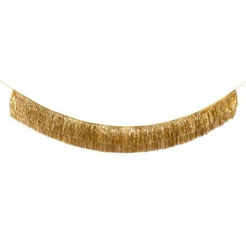 Pappersdekoration, Gold glitter