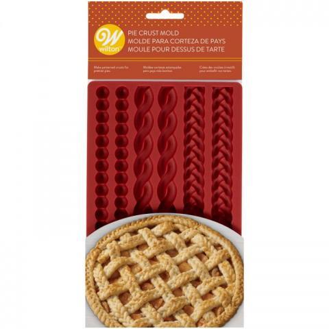 Wilton silikonform, Pie crust