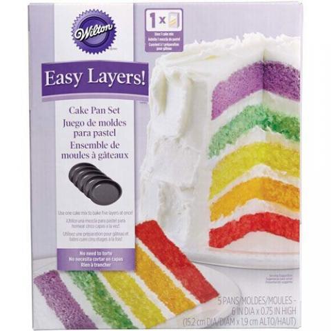 Wilton Easy layers -tårtform